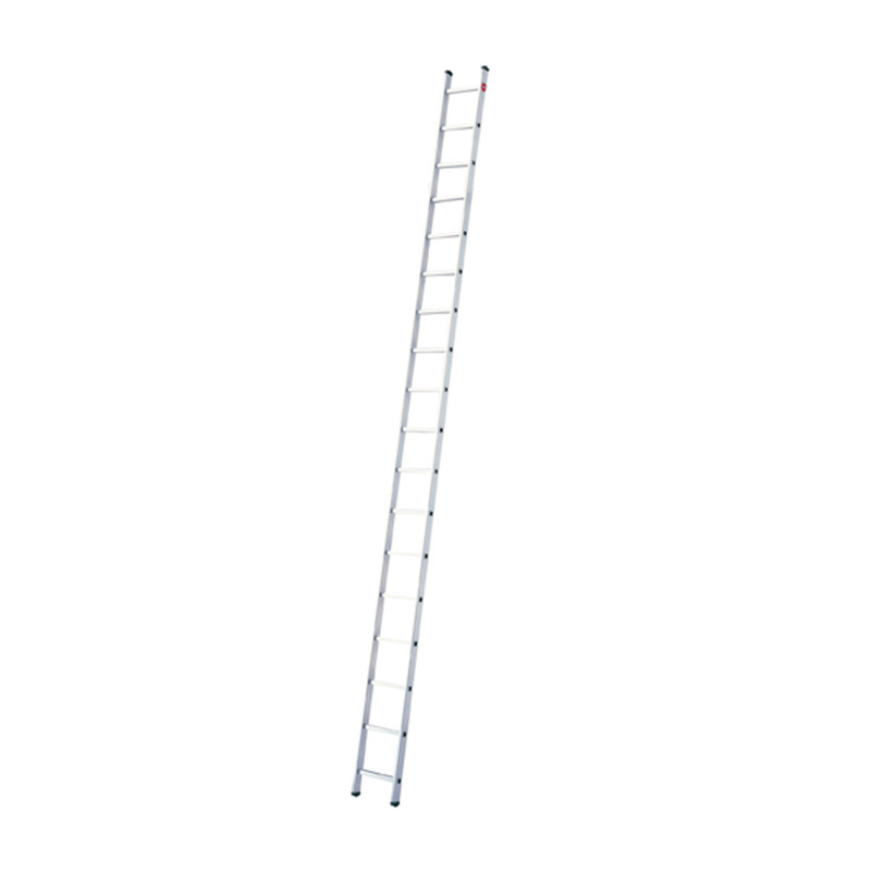 Hailo ProfiStep Uno - Aluminium Single - 18 Rungs - Ladder HLO-7118-001