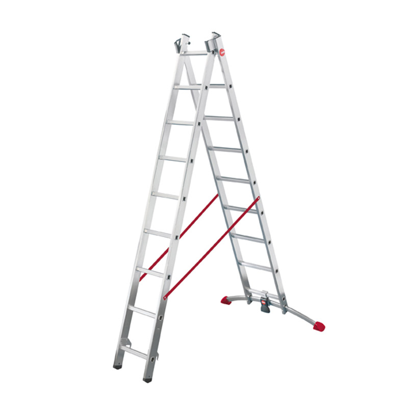 Hailo ProfiLot - Aluminium Multi-Purpose 2x19 Rungs Ladder HLO-9409-501