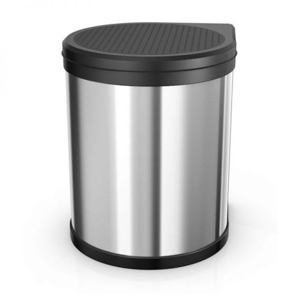Hailo - Compact Box M - 15 Litre - Stainless Steel - HLO-3555-101