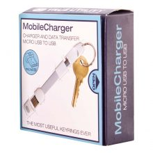 True Utility - Mobilecharger- Usb To Micro Usb -White