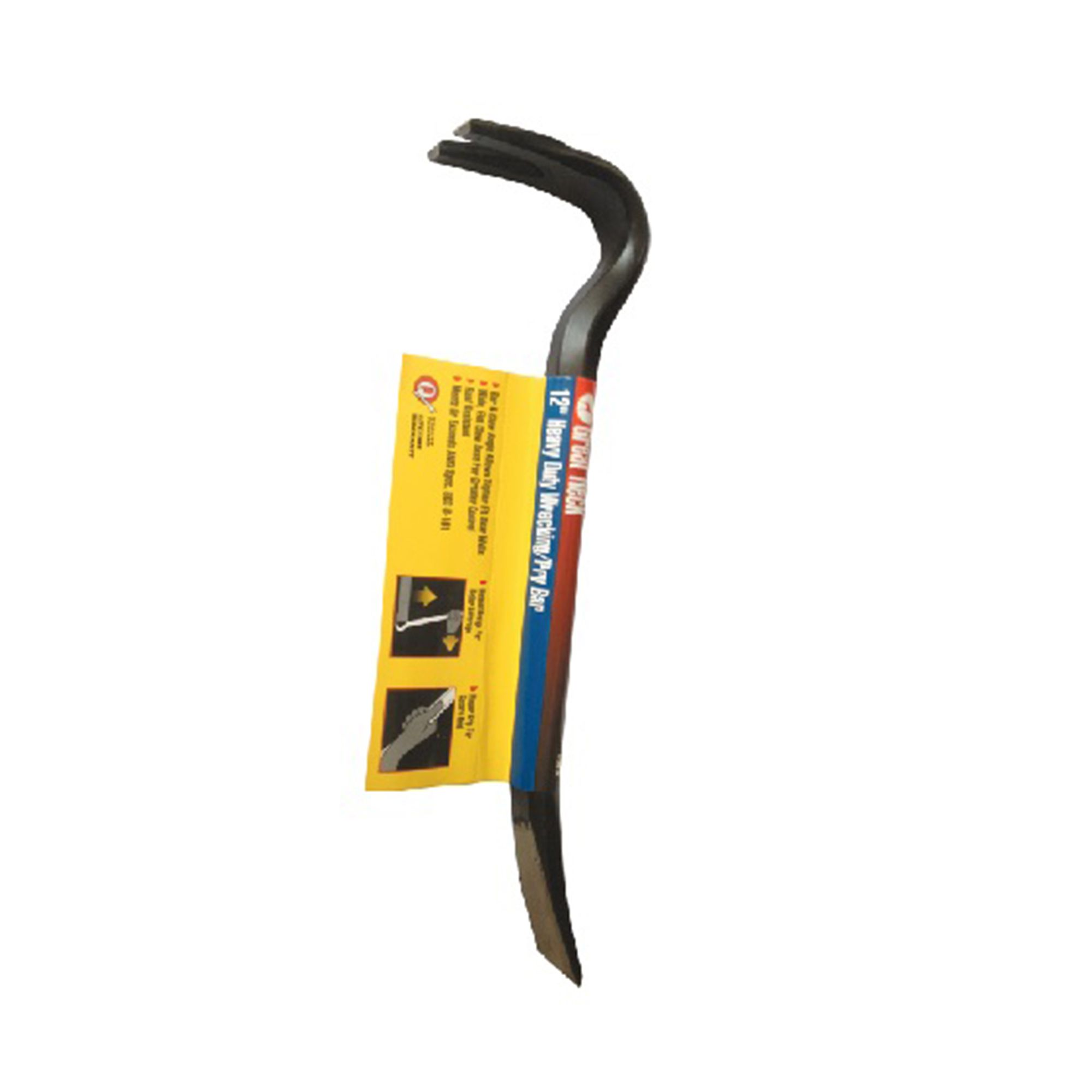 Great Neck Heavy Duty – Wrecking/Pry Bar – 12 Inch – GNK-50052